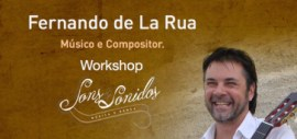 Workshop com Fernando de La Rua