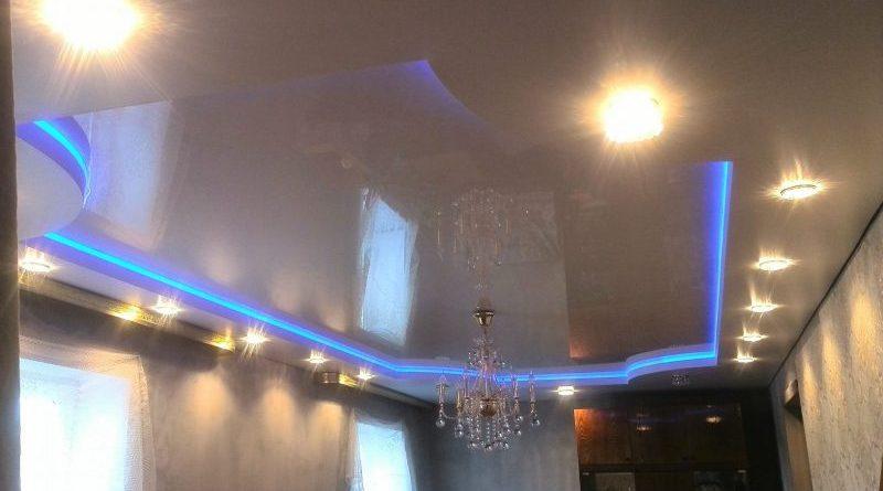 21 e1548455141954 Натяжной потолок с подсветкой