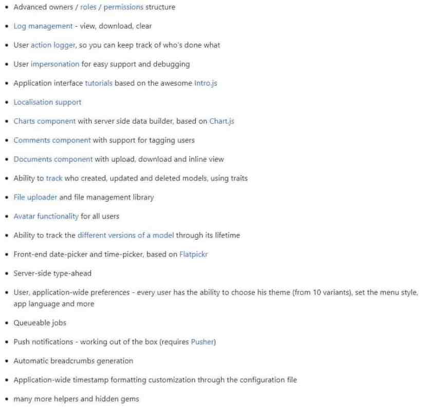 Laravel 5 - цмс (cms)и готовые проекты с открытым исходным кодом. 5