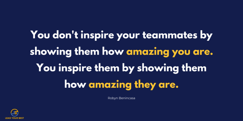 How to lead your team through inspiration and recognition