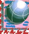 Ball-Painting- by Aleksandra Smiljkovic Vasovic aleksandraartworkcom
