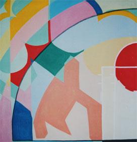 Semi-circle by Aleksandra Smiljkovic Vasovic aleksandraartworkcom