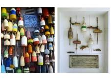 Incorporating vintage buoys adds a fun element.