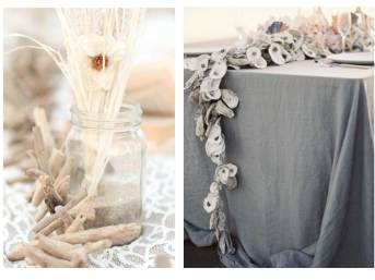 I adore these garlands. Both can be used as table centerpieces or hanging decorations.