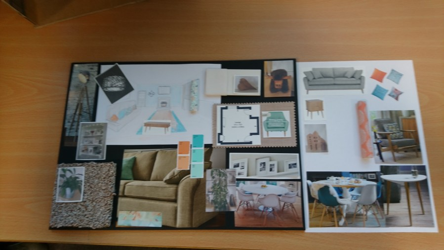 INTERIOR DESIGN TIPS   PRESENTATION BOARD   Interior Design Retail     And here is a selection of Presentation Boards from people coming to my  classes this year  Those people have never done anything similar to this  and have