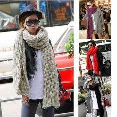 HOT-Women-Extra-Long-Winter-Warm-Tear-Design-Knit-Scarf-Shawl-4-color-FA-008
