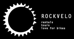 Logo RockVelo turistična agencija kolesarska potovanja