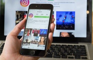 Instagram главный экран
