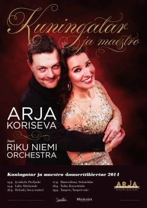 Arja Koriseva / 25 -vuotistaiteilijajuhlajuliste