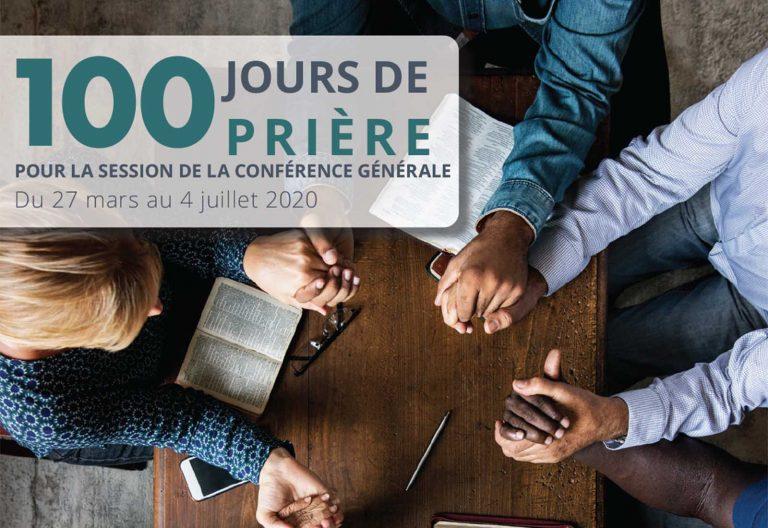 100 jours de prière pour la session de la Conférence