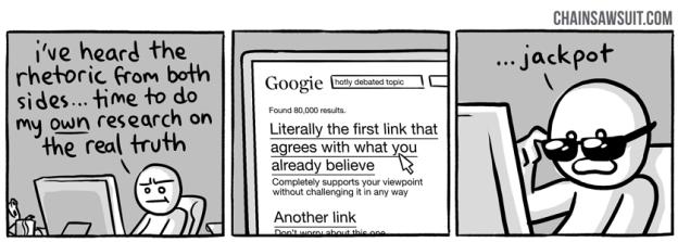 Tirinha - Pesquisa no Google
