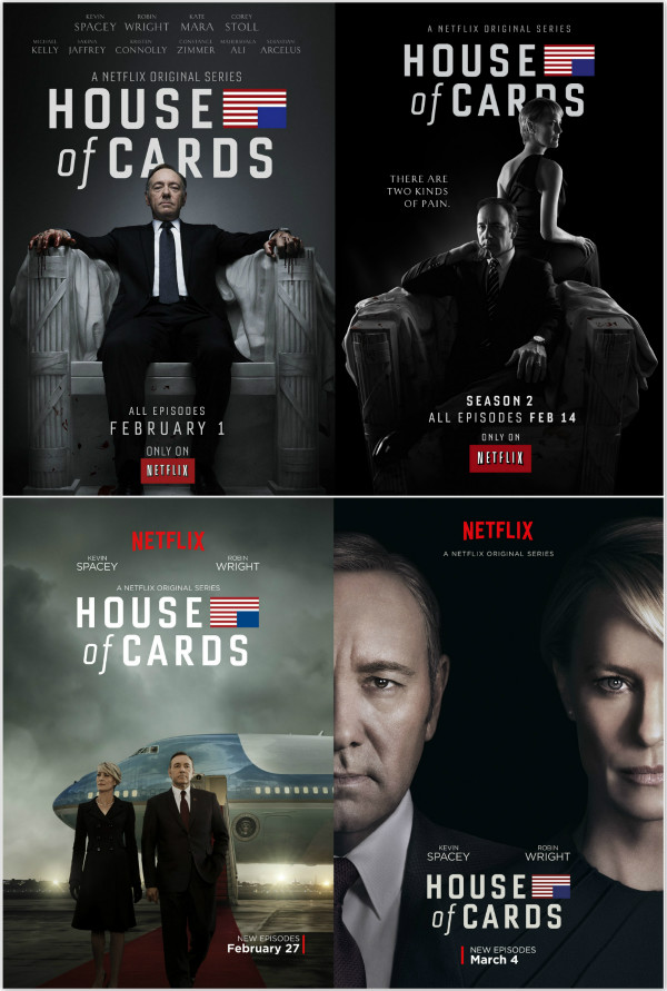Pôsteres House of Cards