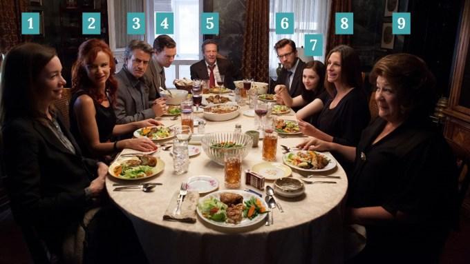 Album de familia cena jantar