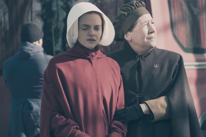 Tia Lydia e Janine