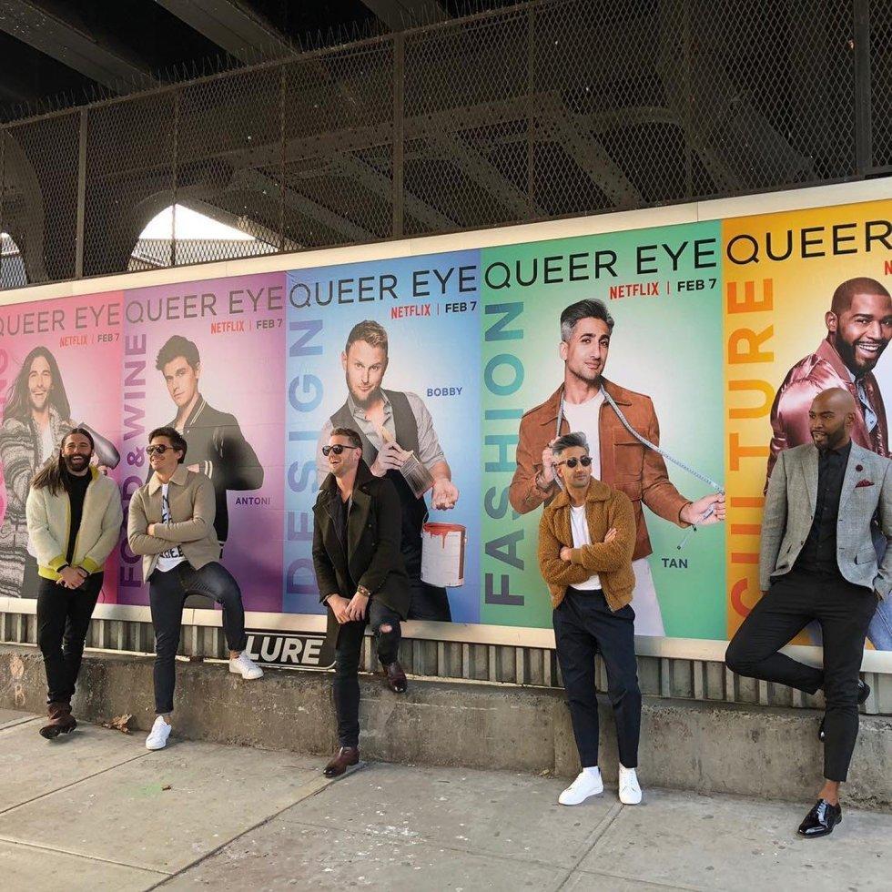 Queer eye capa
