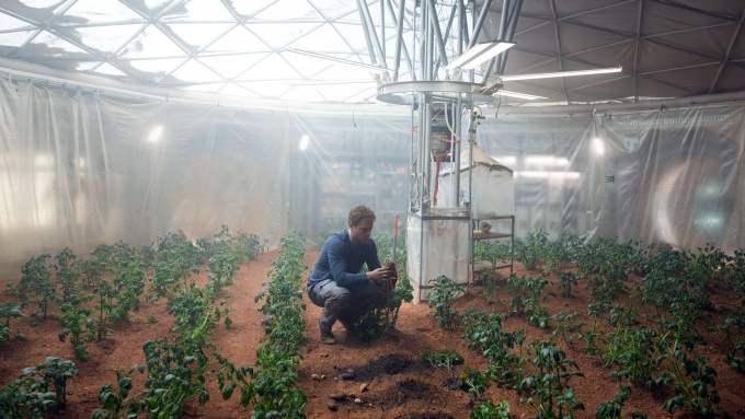 Perdido em Marte cena 2