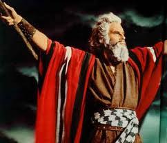 Moses was the Jew - not the NRA loon who played him on TV