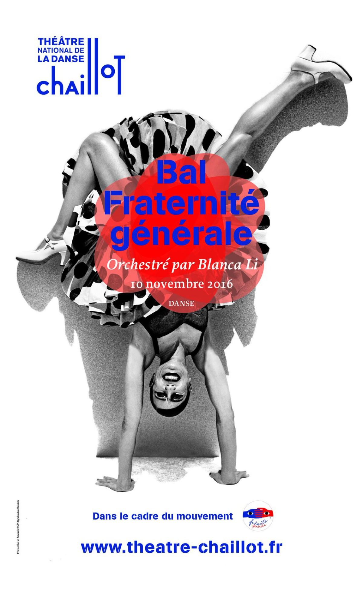 Plakat: Bal Fraternité générale