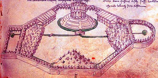 Los Jardines del Renacimiento. - I -  Las ciudades italianas. Por Virginia Seguí  (3/6)