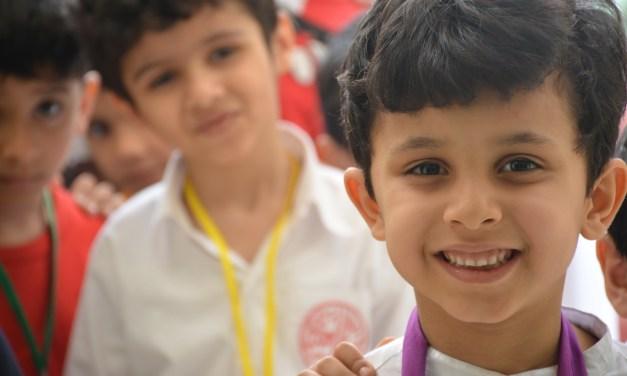 القسم الابتدائي بنين يستقبل أطفال التمهيدي