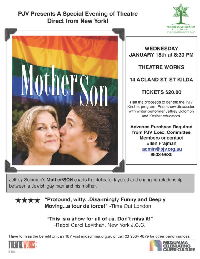 Mother Son Flier