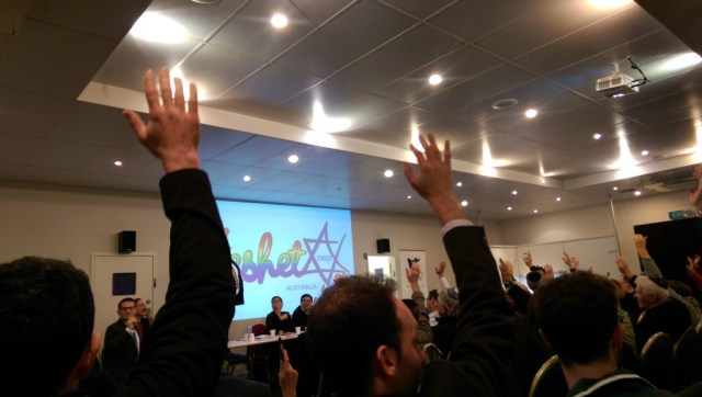 JCCV Plenum votes for Keshet