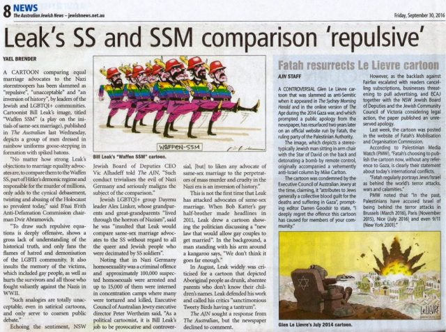 Leak's SS and SSM comparison repulsive