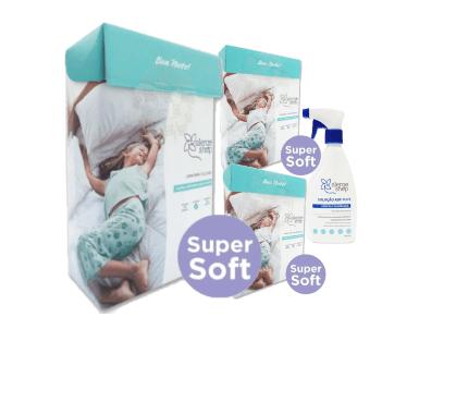 Kit Promoção Capa Super Soft Casal Padrão de 30cm ALtura