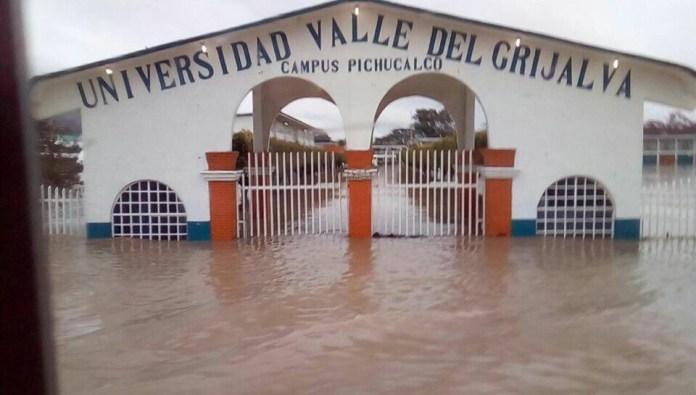 Reportan inundaciones y desbordamiento del Río en #Pichucalco #Chiapas img 5468