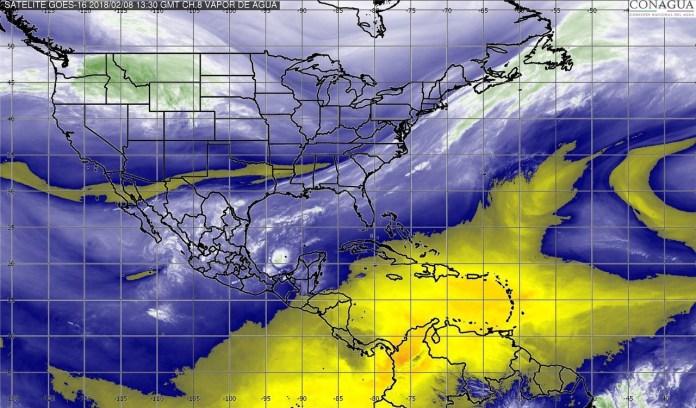 Se pronostican lluvias para regiones de Veracruz y Oaxaca. img 5818