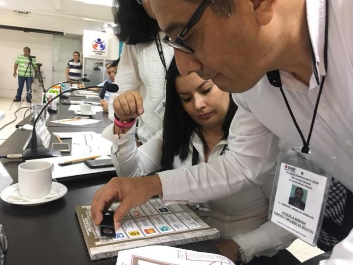 Inició la distribución de material electoral por parte del INE en Chiapas 36043840 1993712037609212 6609062204404662272 n