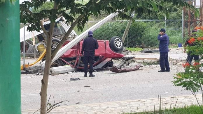 Siete muertos, entre ellos dos policías al ser arrollado por un trailer en La Pochota WhatsApp Image 2018 06 20 at 17.38.443