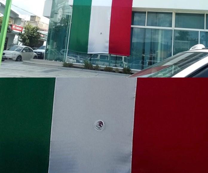 Causa indignación el uso de bandera sin el escudo nacional por parte del TJA Chiapas A07D8B9D 736F 419F A494 E2F5D41FE127