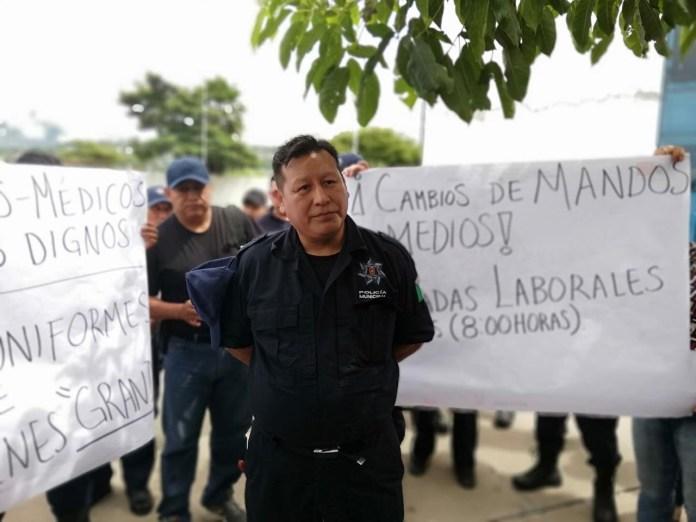 Detienen a comandante y policías municipales acusados de motín 1f24c61a 28e5 4680 b611 49bfd1b3b938