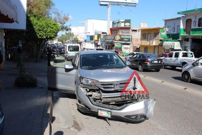 Accidente de tránsito deja un lesionado en Terán img 9997