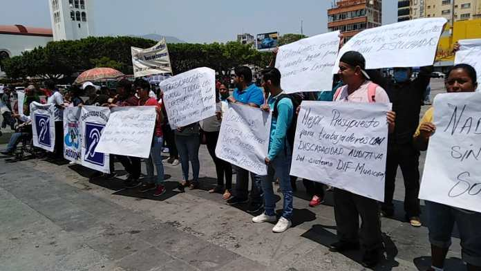Sordos de Chiapas demandan ser escuchados