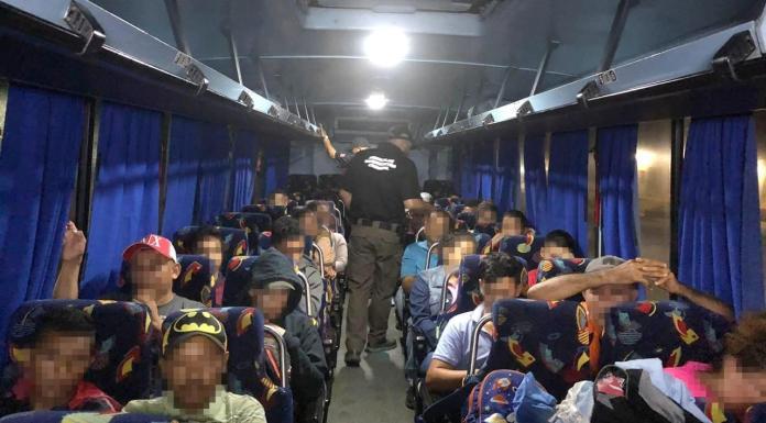Asegura FGR a 32 cubanos, hondureños y salvadoreños
