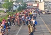 """Ingresa """"nueva caravana"""" de migrantes centroamericanos"""