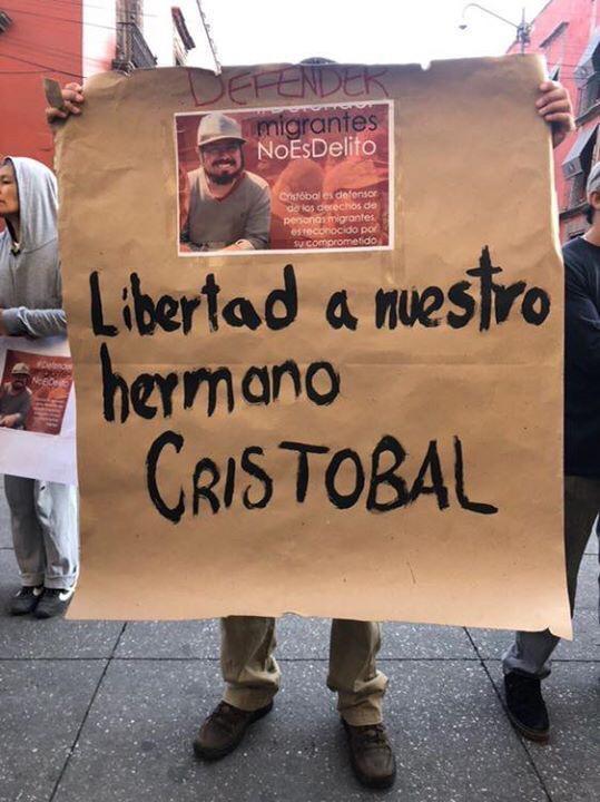 Piden activistas liberación de Irineo Mújica y Cristóbal Sánchez 52b7e8e4 2244 402e 8960 924124bd674f