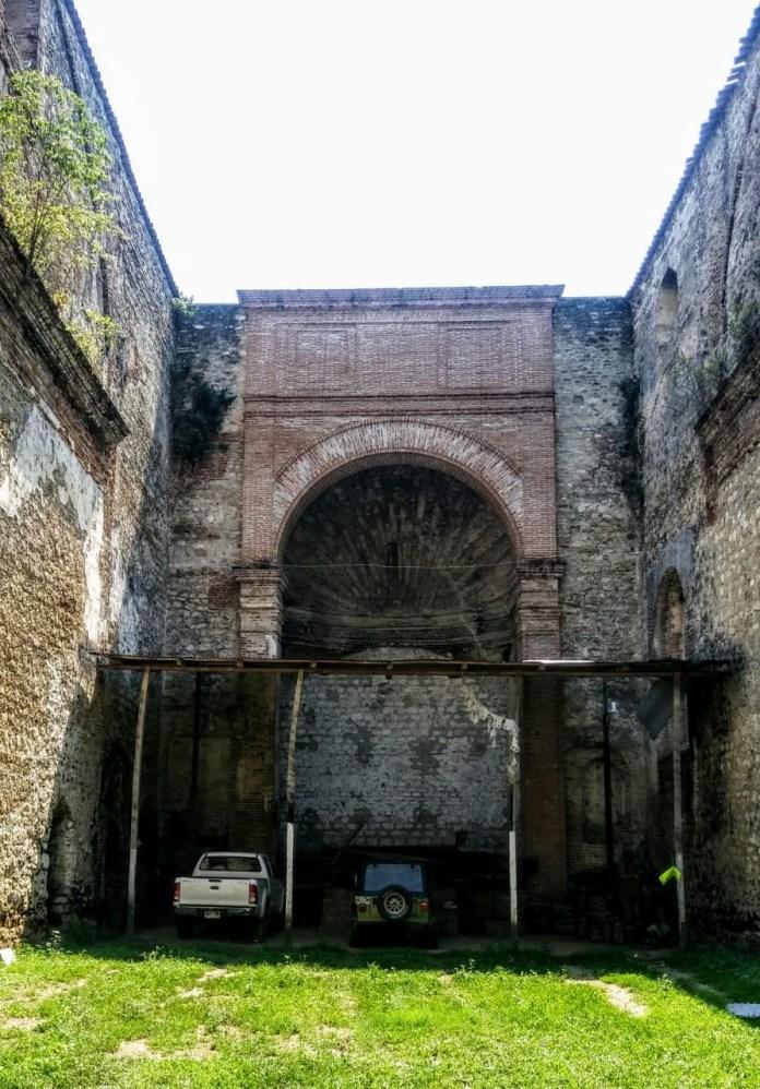 Usan templo considerado patrimonio como estacionamiento 75558f29 0d0c 4abe 938f c7bf049e2f4f