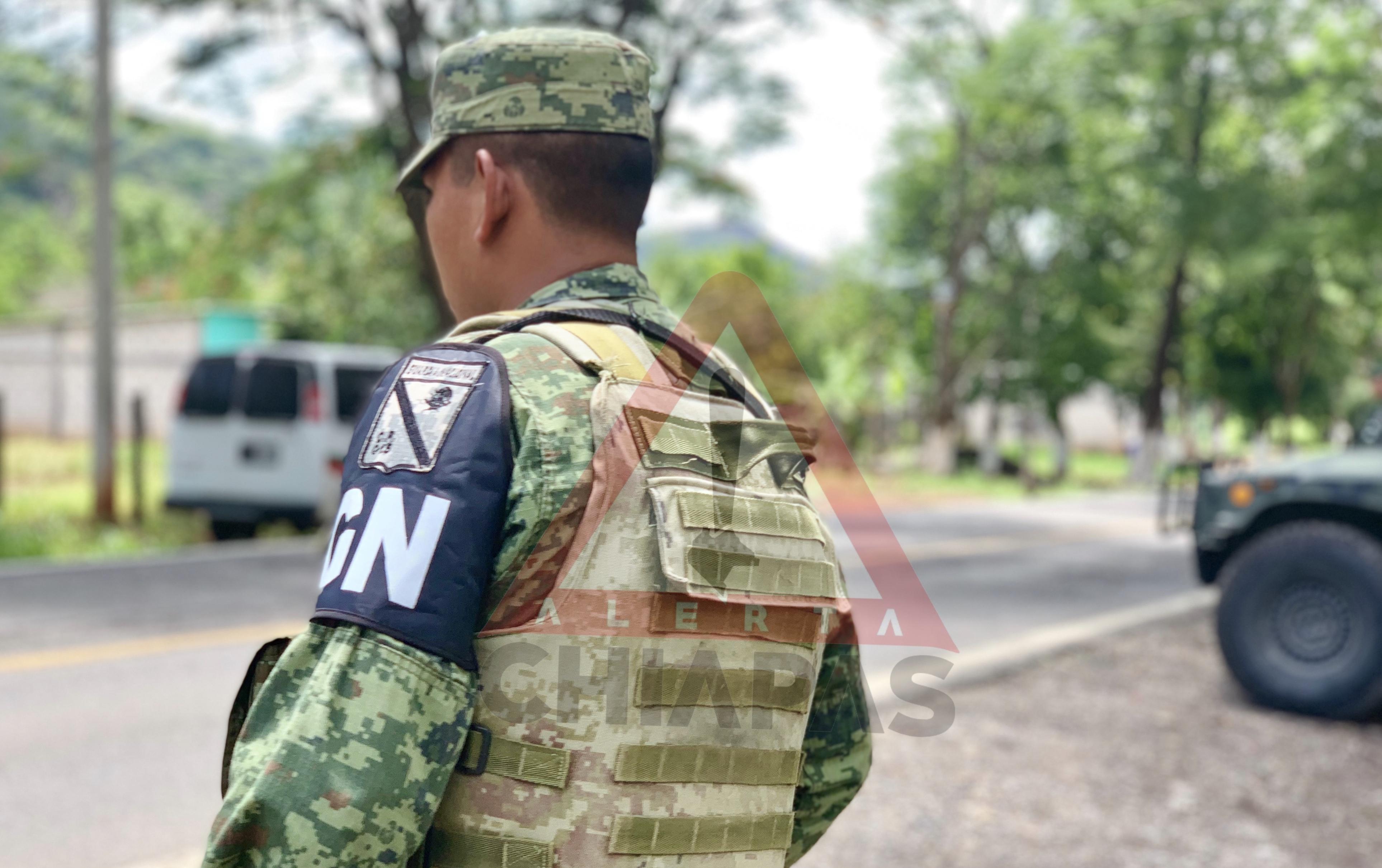 Blindan Chiapas con Guardia Nacional