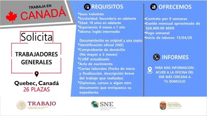 Ofertará Secretaría de Economía y del Trabajo más de mil vacantes WhatsApp Image 2019 10 13 at 2.16.15 PM 1