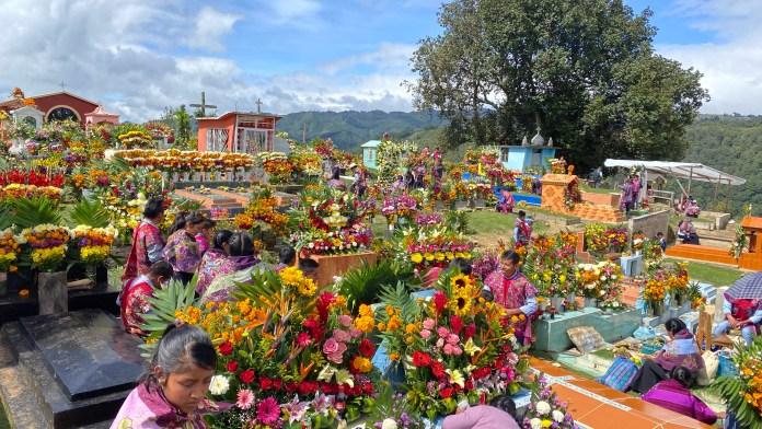 Todas las flores del mundo en el panteón de Zinacantán img 5337 1