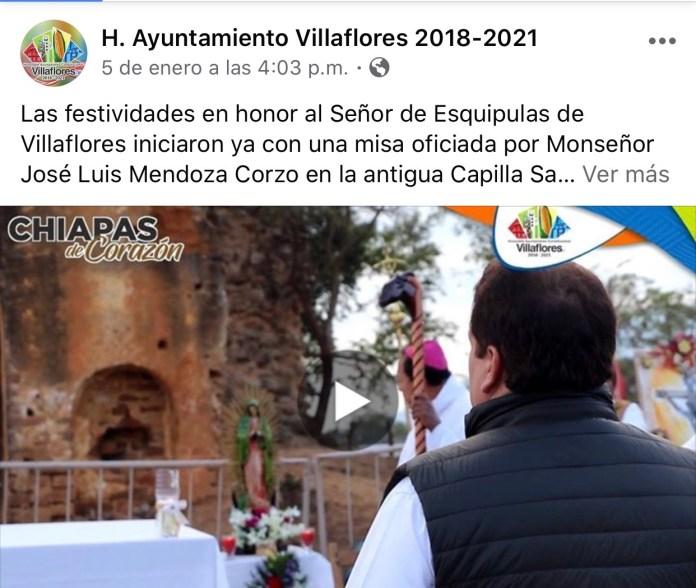 La católica cuenta de facebook del Ayuntamiento de Villaflores IMG 3071
