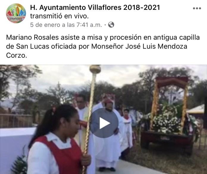 La católica cuenta de facebook del Ayuntamiento de Villaflores IMG 3074