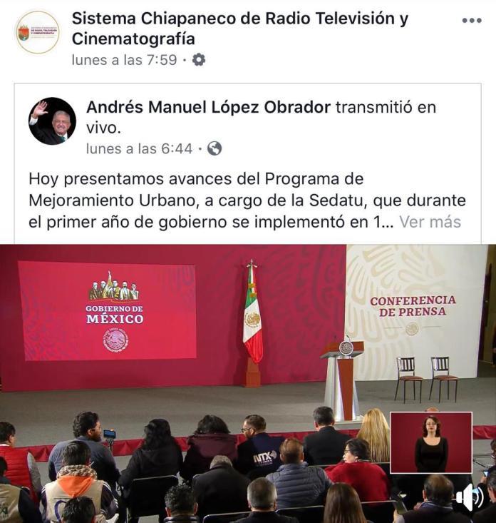 En picada la radio y televisión pública de Chiapas, pese a presupuesto millonario WhatsApp Image 2020 01 08 at 5.36.44 PM