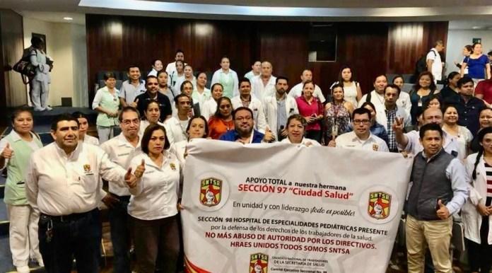 Por falta de insumos trabajadores laboran bajo protesta en Hospitales de especialidad en Tuxtla y Tapachula b5d2432d 862c 443d 9c71 ceb5a0a07e22