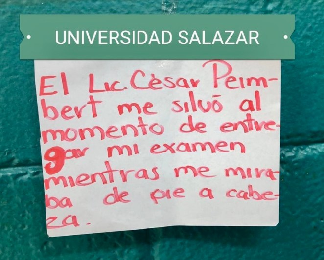 Foto: Brujas: Colectiva de Feministas Universitarias