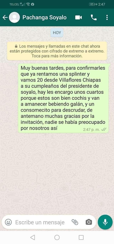 Se confirma uso del DIF para organizar cumpleaños del alcalde de Soyaló d7197d12 56cd 46e5 b337 4d38d506f9f5