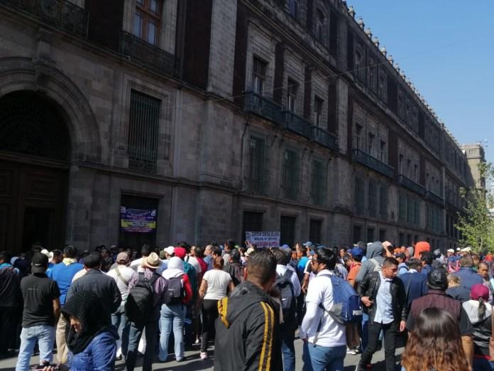Se le planta la CNTE a Obrador frente a Palacio Nacional e7b4f5d5 dfbb 4b6b 8dba 69fce7c7c3da